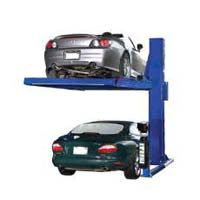 Single Pole Car Parking System