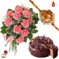Chocolate Cake, Rakhi Gifts