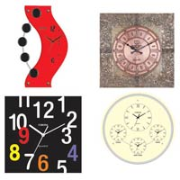 Wall Clocks, Alarm Systems
