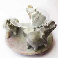 Aroma Oil Diffuser - 3 Elephants