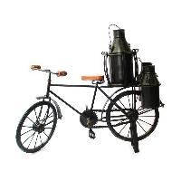 Wrought Iron Milkman Cycle