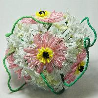 French Beads Flower Bouquets