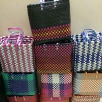 Plastic Handwoven Baskets