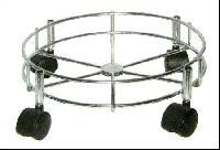 steel gas cylinder trolley