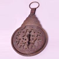 Brass Arabic Calendar