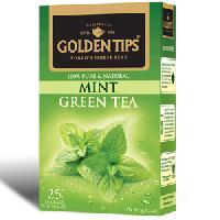 Golden Tips Mint Green Tea 25 Tea Bags