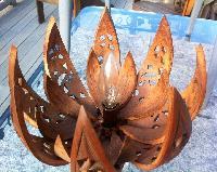 Wooden Lotus Flower