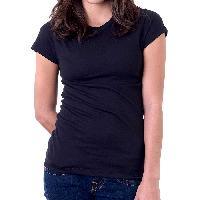 100% Cotton Ladies Round Neck Plain T-shirts