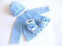 New Born Babies Hand Knitted Sweaters