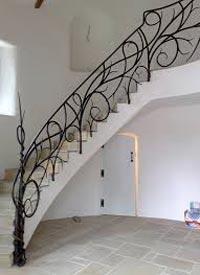 Mild Steel Stair Railing