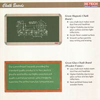 Magnetic Chalk Boards, Glass Chalk Boards