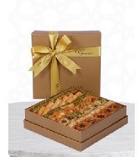 ASSORTED BAKLAVA Medium Golden Box