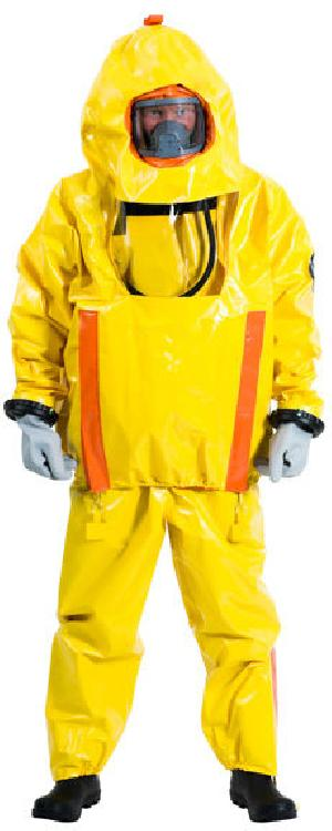Pvc Suit With Breathing Apparatus