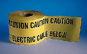 Underground Caution Tape
