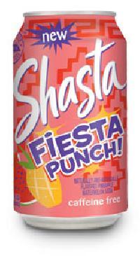 Shasta Fiesta Punch, Soft Drinks