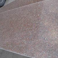 Cheap Peach Red Granite Slab, Thin Granite Slab