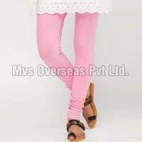 Ladies Baby Pink Leggings