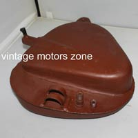 Vintage Motorcycle Oil Tanks