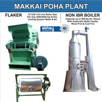 Maize Flakes Processing Line