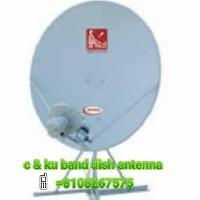 C & Ku Band Dish Antenna