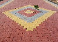 I-shape Paver Interlocking Tiles