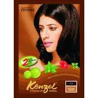 Brown Henna Hair Color