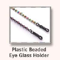 Plastic Beaded Eye Glass Holder