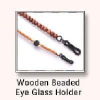 Wooden Beaded Eye Glass Holder