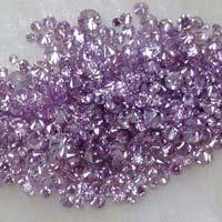 Natural Fancy Intense Purple Pink Diamond