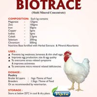 Biotrace, Poultry Feed Supplement