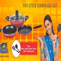 4 Pieces Non Stick Cookware