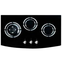 3 Burners hob