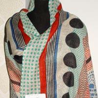 Silk Wool Scarves