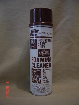 Heavy Duty Industrial Foam Cleaner