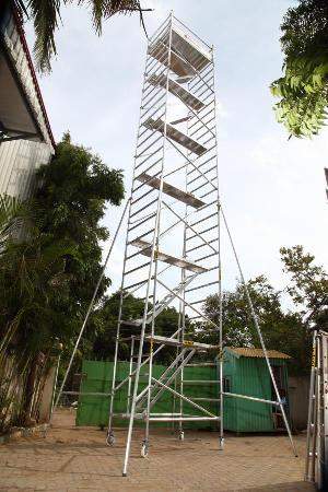 Aluminium Mobile Scaffolding Ladder
