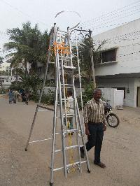 Aluminium Y Type Extension Ladder