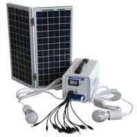 Solar Lighting System For Indoor