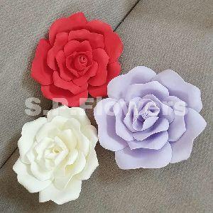 Foam & Paper Flower