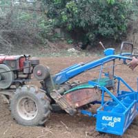 Powertiller Groundnut Seed Drill