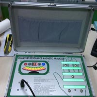 Hand Touch Model Quantum magnetic health analyzer with 41reports
