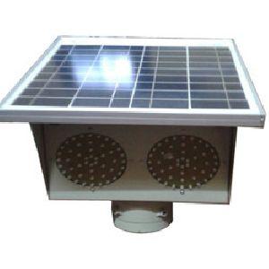 Solar Traffic Blinker Light