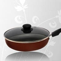 Non Stick Frying Pan With Glass Lid