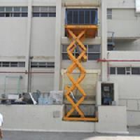 Double High Hydraulic Scissor Lift