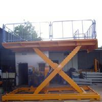 Double Long Hydraulic Scissor Lift