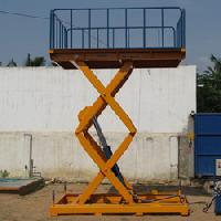 Double Wide Hydraulic Scissors Lift