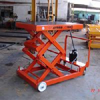 Manual Hydraulic Scissor Lift