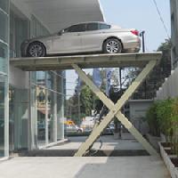Single Scissor Hydraulic Lift