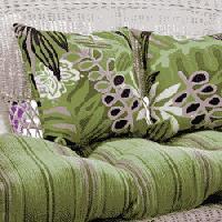 Wicker, Loveseat Cushion