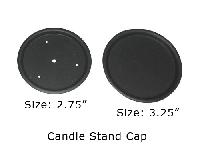 candle stand iron cap
