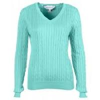 ladies v neck sweaters